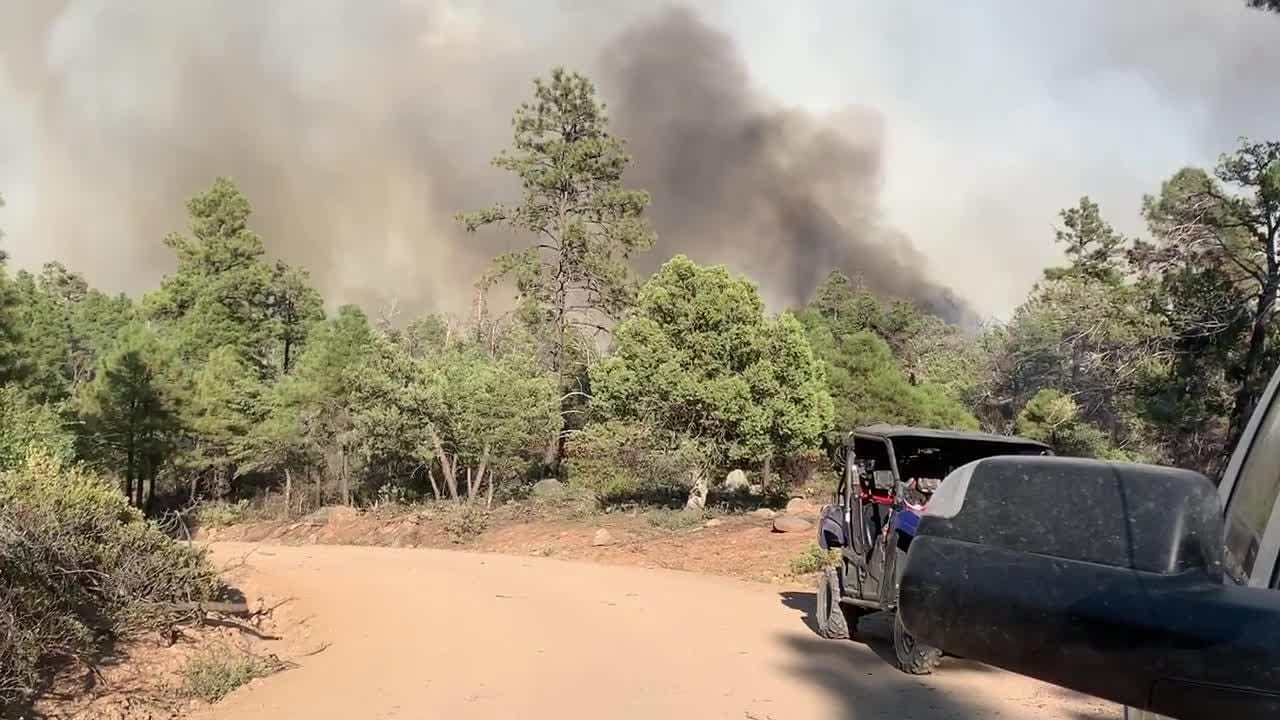 fire near prescott az