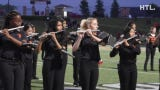 Northville High marching band performs on Sept. 6 at halftime of a Mustangs' football game