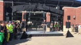 Tyler Trent gate dedication at Purdue's Ross-Ade Stadium.