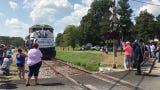 Last coal train rolls through Providence, Kentucky