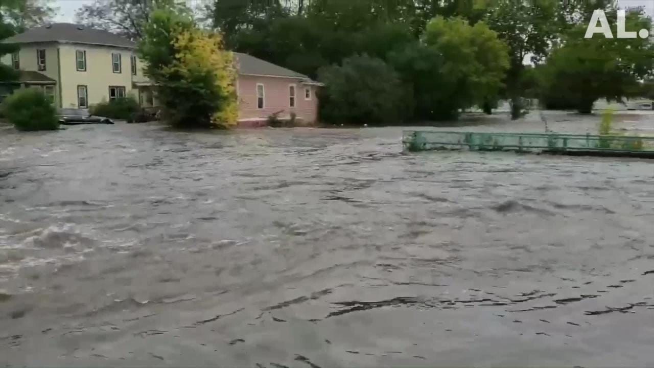 Dell Rapids, other southeastern South Dakota Towns, inundated with flooding
