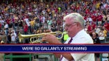 Jim Doepke performs national anthem on his trumpet at Marlins Park at Marlins Park on Tuesday, September 10, 2019, in Miami. He will have played at all 30 Major League Baseball stadiums when he performs national anthem on September 19, 2019, at Sun Trust Park in Atlanta.