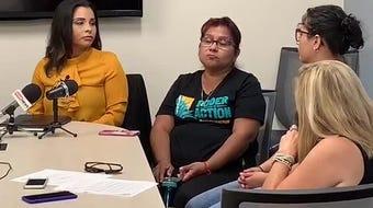 Junto a la abogada Ayensa Millán, Aldo González de la organización LUCHA, Erika Mach de Arizona Alliance for Community Health Centers, y su compañera en Poder in Action, Isabel García, se habló sobre los próximos cambios en inmigración.