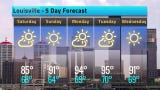 The heat isn't going anywhere in Louisville. Check out the 5-day forecast for Sept. 14-18.