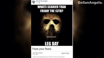 """Businesses and officials around San Angelo have gotten into the """"spooky spirit"""" for Friday the 13th. Here's what they had to say."""
