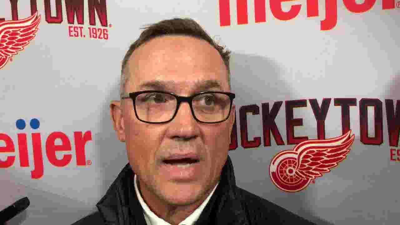 Detroit Red Wings GM Steve Yzerman is encouraged as camp begins. Here's why