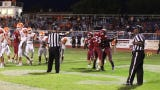 Sophomore Joey Reza (2) scores Deming's lone touchdown in the Wildcats 55-6 loss to Artesia High