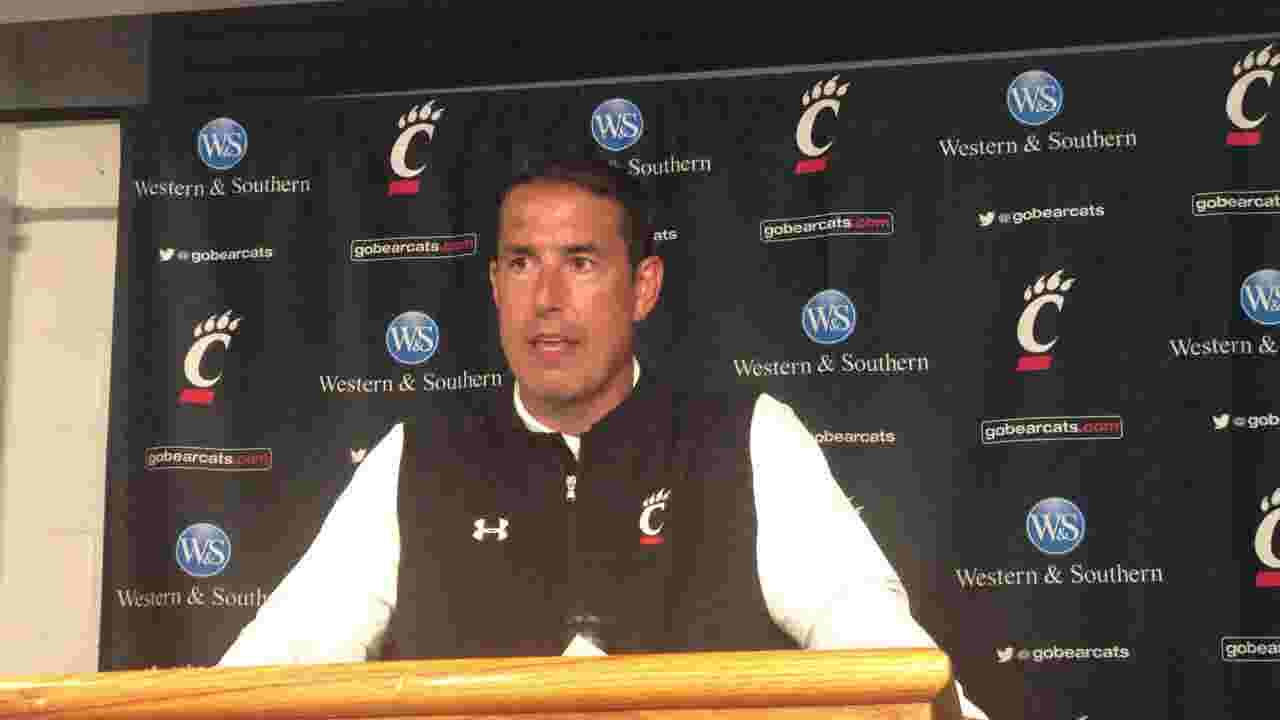 Luke Fickell: UC football 'hoping' Gerrid Doaks could return at Marshall