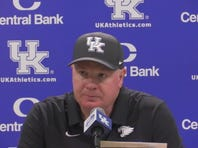 Kentucky football's Mark Stoops talks about loss to Florida