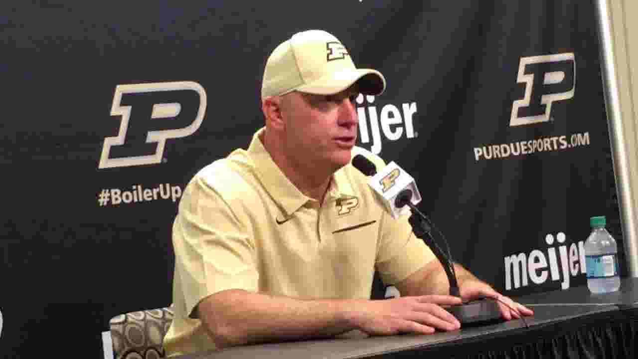 So far this season, Purdue running game 'not going anywhere'