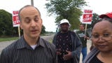 Lansing Mayor Andy Schor speaks on GM strike
