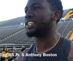 GSU's Anthony Boston talks pressure of filling in for Danquarian Fields