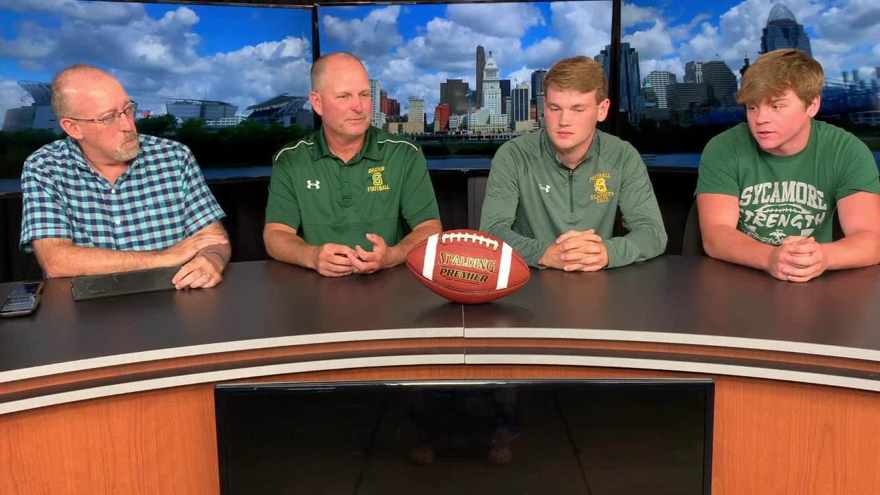 WATCH: Sycamore football coach, players look ahead to Lakota West