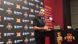 Matt Campbell addressed Iowa State running backs and receivers