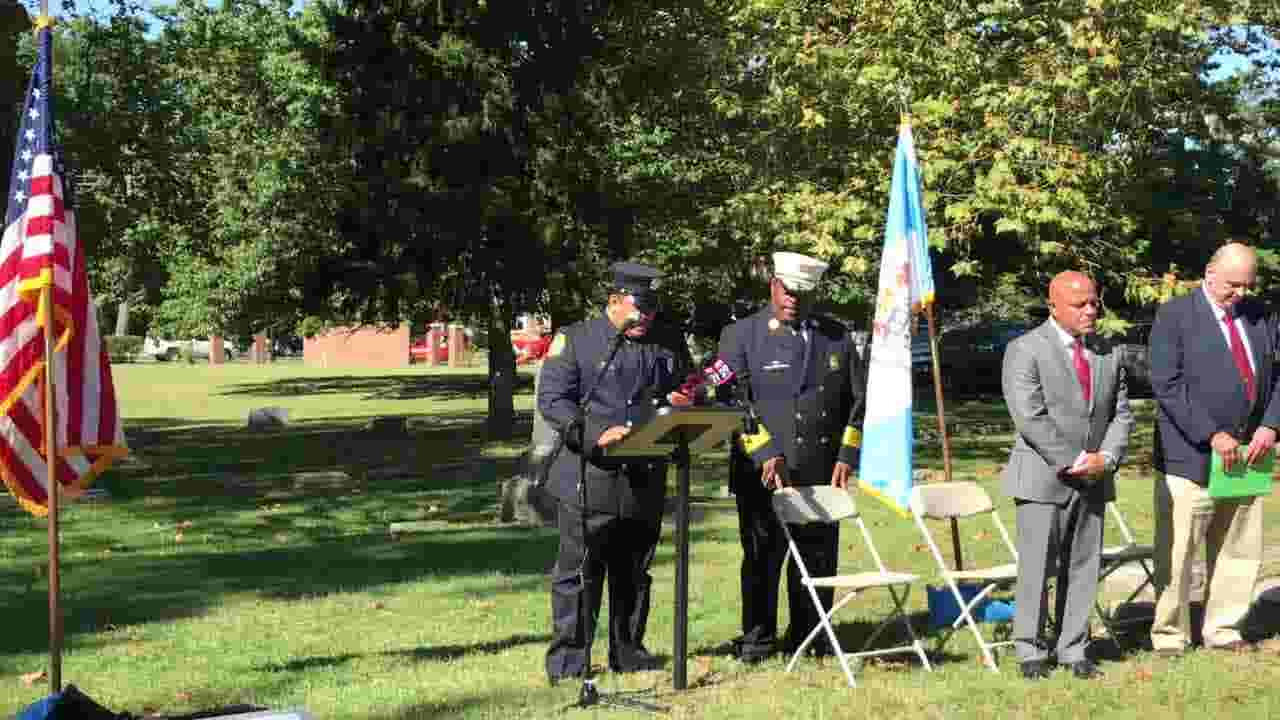 Camden Fire Dept. honors two lost in the line of duty long ago