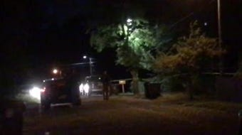 Hattiesburg police were searching for evidence in the 400 block of Magnolia Avenue, where a man was found dead Tuesday, Sept. 17, 2019.
