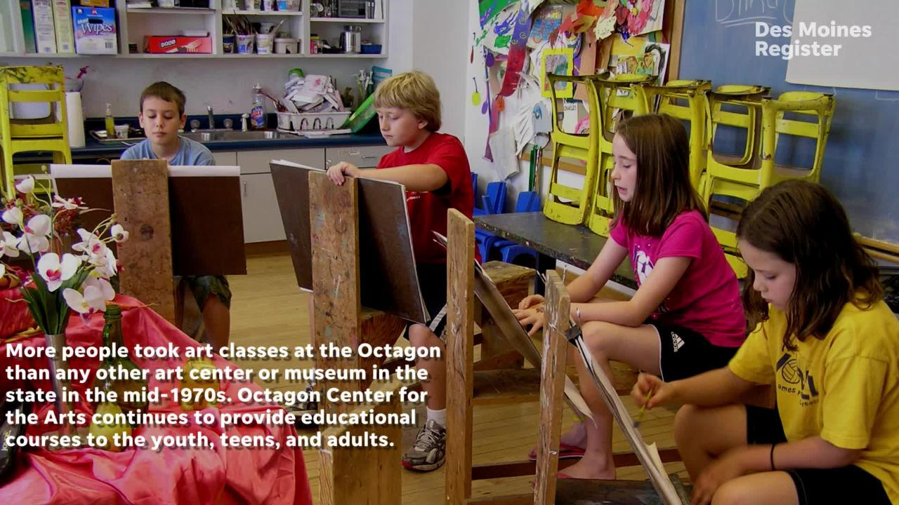 History of Octagon Center for the Arts