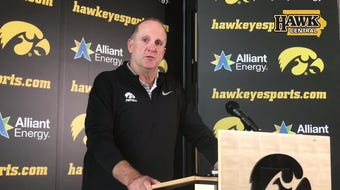 Iowa defensive coordinator Phil Parker says he's trying to work on the 4-2-5 as much as possible despite so many secondary injuries.