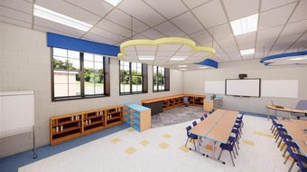 Four additional classrooms are required at Tisdale School in Ramsey to accommodate all-day kindergarten.