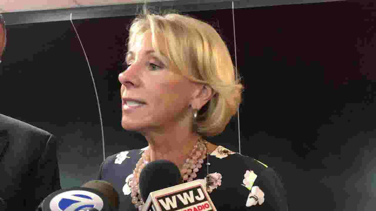 Betsy DeVos: Michigan needs to offer more school choices