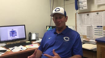Carlsbad head coach Gary Bradley talks about the upcoming game against his brother Michael Bradley at Mayfield in the annual Bradley Bowl.