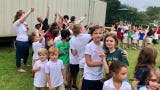 Myrtle Place Elementary School celebrates International Peace Day on Friday, Sept. 20.