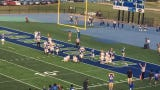 Watch as DeMeer Blankumsee runs in to give Winton Woods a three-score lead against Moeller in the first quarter on Friday.
