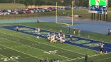 Watch as Mi'Chale Wingfield scores from 3 yards out to give Winton Woods High School a 27-0 lead over Moeller at the end of the first quarter.