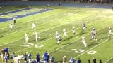 Watch as Mi'Chale Wingfield passes to DeMeer Blankumsee for a 37-yard score to put Winton Woods up 34-0 on Moeller.