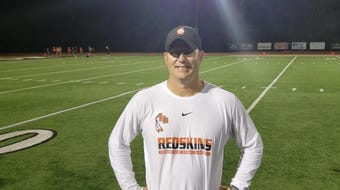 Anderson High School football coach Evan Dreyer discusses the 59-41 win over Eastern Cincinnati Conference rival Kings.