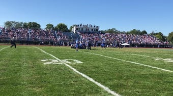 Highlights of Elmira's 34-28 win over host Horseheads in football Sept. 21, 2019 at Horseheads High School.